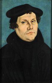 Lucas Cranch: Martín Lutero. Alemania, Castillo de Coburg.