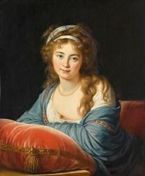 Elisabeth Louise Vigée Le Brun: Countess Ekaterina Vasilievna Skavronskaya, 1796. Paris, Musée du Louvre.