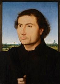 Hans Memling: Retrato de Hombre. The Frick Collection.
