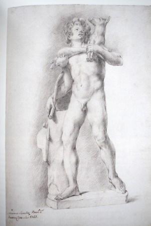 Mariano Sánchez: Fauno del cabrito. 1753. RABASF