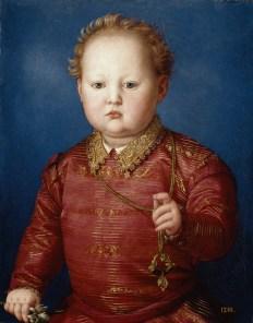 Bronzino: García de Médicis. Museo Nacional del Prado.