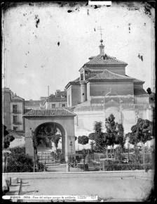 J. Laurent: Vista de la Plaza del Dos de Mayo de Madrid. Fondo IPHE.