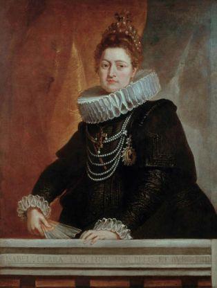 Pedro Pablo Rubens: Isabel Clara Eugenia. Bruselas, Museo de Bellas Artes.