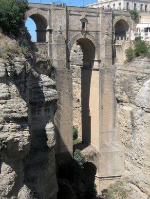 Puente Nuevo de Ronda (Málaga). Foto: wikicommons.