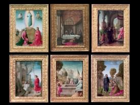 Juan de Flandes: Políptico de Isabel la Católica. Patrimonio Nacional.