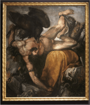 Tiziano: Ticio. Museo Nacional del Prado.
