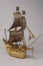 Hans Schlottheim: Automatón en forma de barco, 1585. Inv. No.: KK_874. Photos ©: Kunsthistorisches Museum.