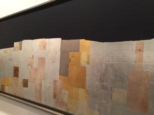 "Detalles de la obra ""Long mur vertical"", 1962. Galerie Jerome Poggi. Foto: Investigart."
