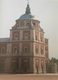 Magoga Piñas: Hipótesis tridimensional del estado exterior de la Real Capilla de Aranjuez.