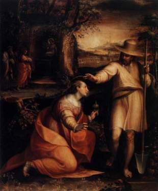 Liviana Fontana: Noli me tangere. Florencia, Galeria degli Uffizi.