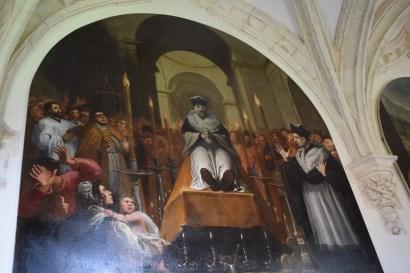 Vicente Carducho. Claustro Grande de la Cartuja de El Paular.