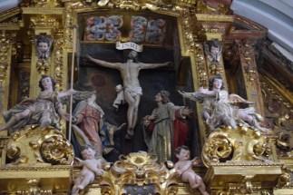 Detalle del calvario. Cartuja de El Paular.