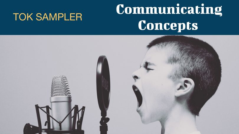 COMMUNICATING CONCEPTS