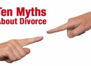 myths about divorce