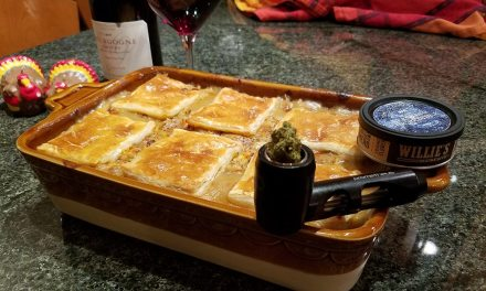 Holiday food, wine and cannabis pairings