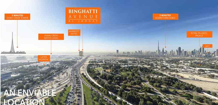 Binghatti Avenue