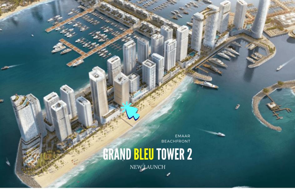 Grand Bleu Tower 2 Emaar Beachfront