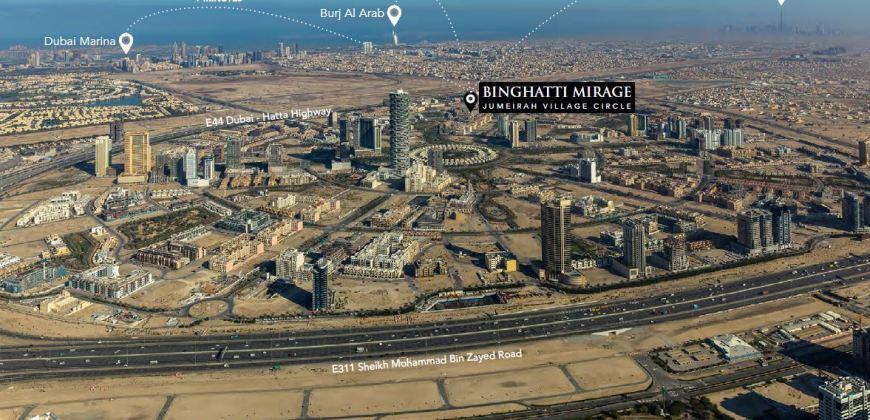 Binghatti Mirage JVC