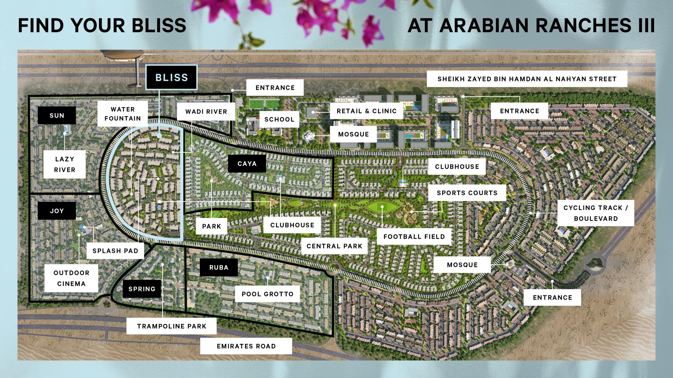 BLISS Arabian Ranches 3