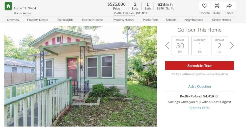 buying a house post residency