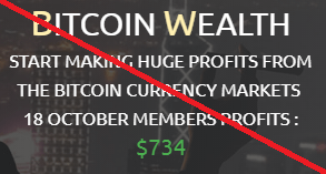 bitcoin wealth scam