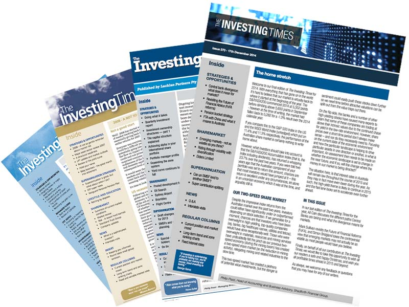 Investing Times Issues