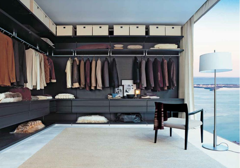 One Thousand Museum Finished Closets on 321 Ocean Drive Miami Beach