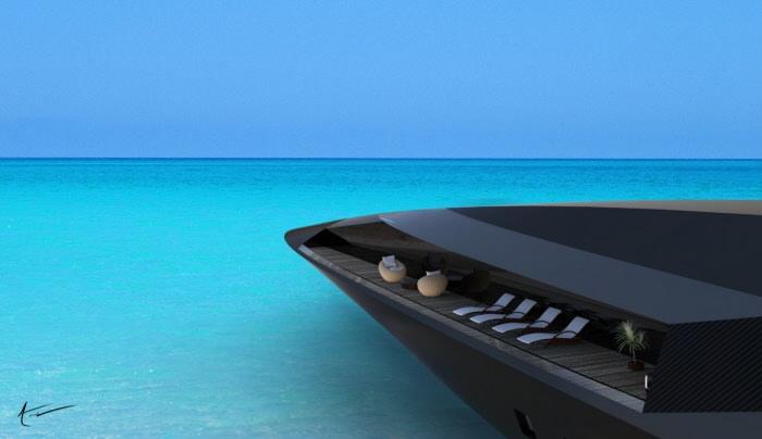 Black Swan Superyacht Concept Investinmiami Com