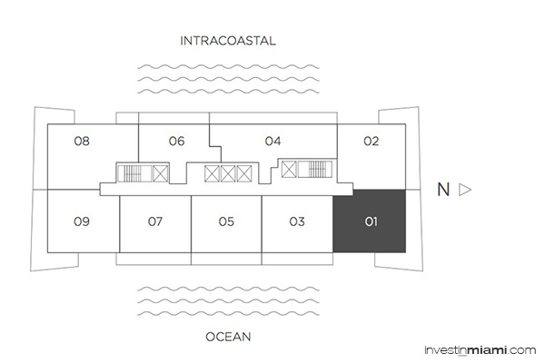 Hyde beach house 4000 s ocean dr hollywood fl 33019 for Hyde homes floor plans