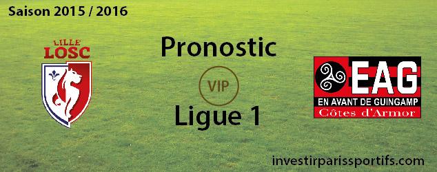[VIP] Pari n°75 – Lille / Guingamp – Ligue 1 – Déverrouillé