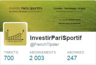 image twitter investir paris sportifs du site investirparissportifs.com