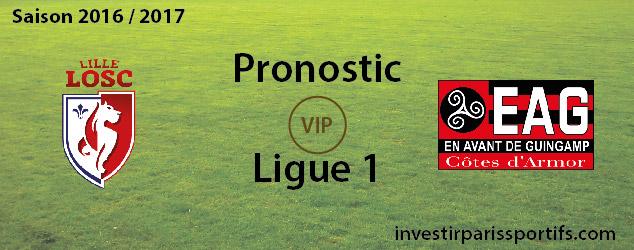 [VIP] Pari n°104 – Lille / Guingamp – Ligue 1 [Déverrouillé]