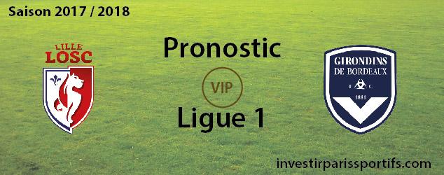 Pronostic investirparissportifs.com - Investir paris sportifs Lille Bordeaux