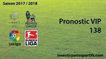 Pronostic VIP 138 - investirparissportifs.com
