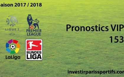 Pronostic VIP 153 - investirparissportifs.com