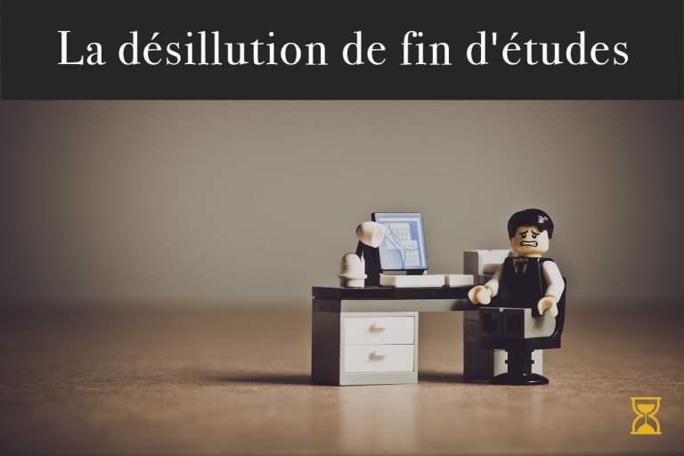 La désillusion du travail en lego