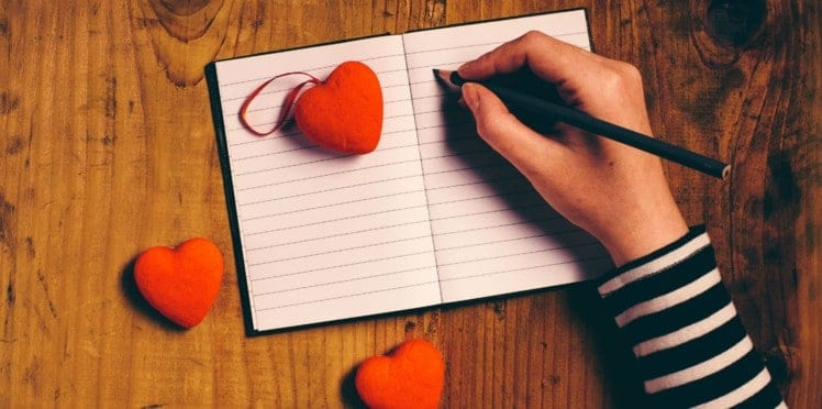 Un carnet de notes pour écrire ses émotions