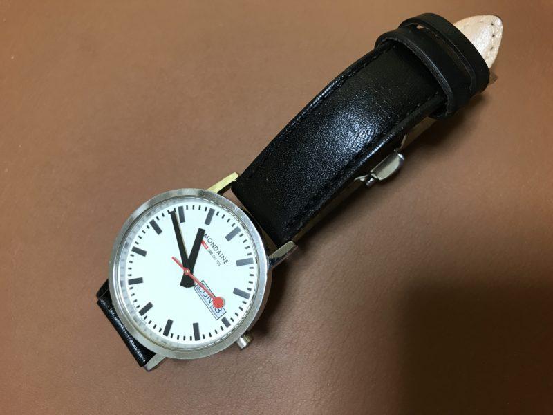 Mondaineの腕時計