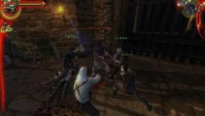 ゲーム最序盤の戦闘