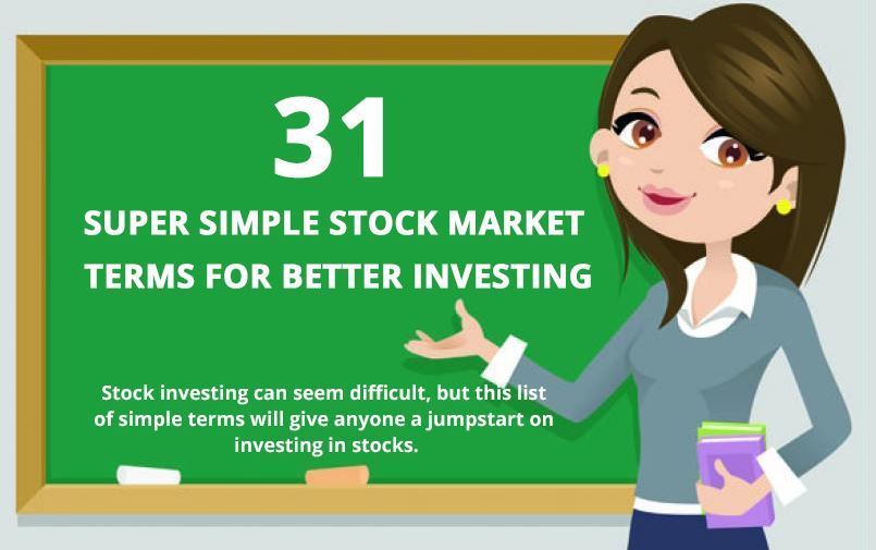 31 Stock Market Terms for Newbies