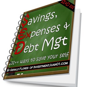 Download - Savings, Expenses & Debt Mgt: 101++ Ways to Save Your Self [SExD101]
