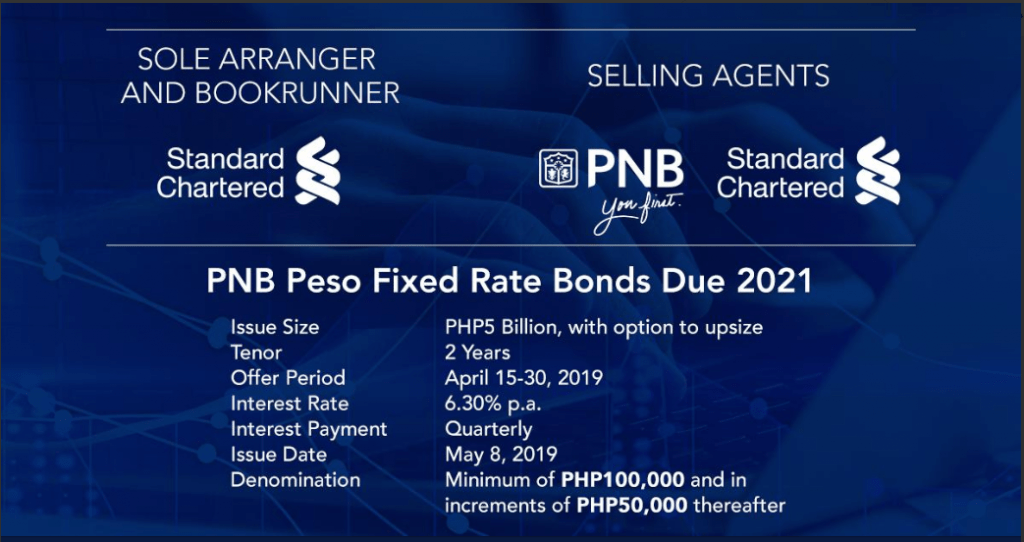 Better Than Time Deposits: PNB 2-Year Bonds 6.3% p.a.