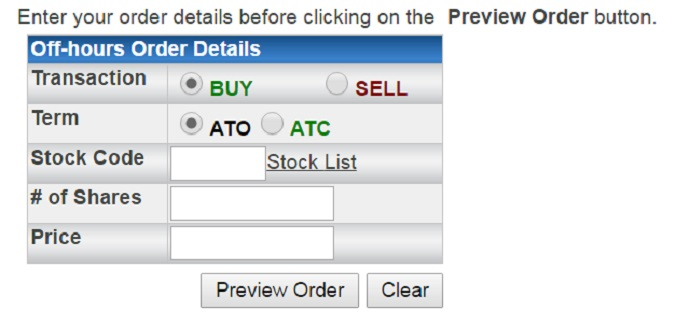 Step 4.Buy Stock Shares.