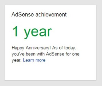 google adsense experience in blogging