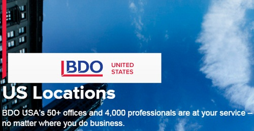 BDO Offices in United States
