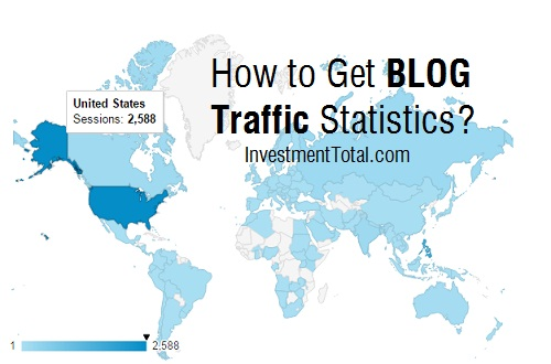 blog traffic statistics USA
