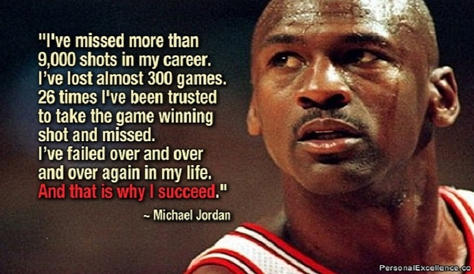 Inspirational Quotes for Success by Michael Jordan