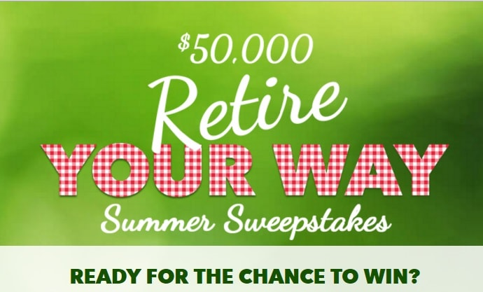 enter to win summer sweepstakes retire your way