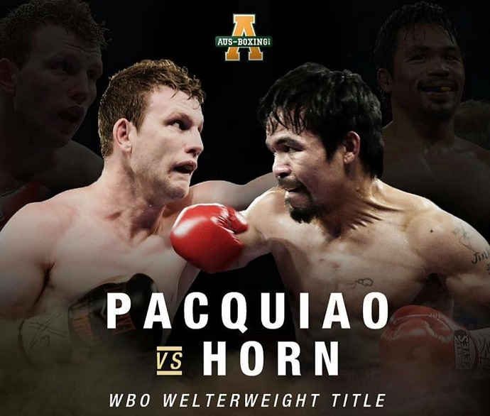 Manny Pacquiao Vs. Jeff Horn for Welterweight World Title
