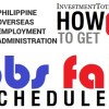Jobs Fair Schedule POEA Philippines